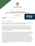 Papa Francesco 20190425 Associazione Sordi
