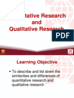 3 Quantitative Research and Qualitative Research