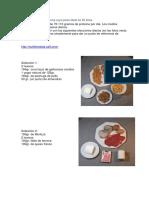 Dieta Proteinas Diaria