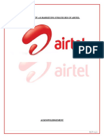 Airtel Mm Project Final