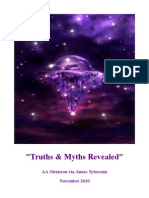 Truths & Myths Revealed - Archangel Metatron via James Tyberonn