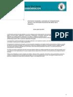 Boletín Indicadores Económicos Banco República Colombia