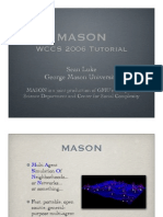 MASON Tutorial Slides