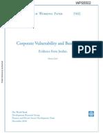 Corporate Vulnerability