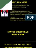 Status Epilepticus (Dr Susana Fara Diba)