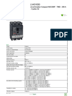 Schneider MCCB -Compact NSX_LV431630