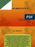 Derecho Mercantil II La Quiebra 2016