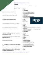 Medicion Medidas de Tendencia Central Cuestionario