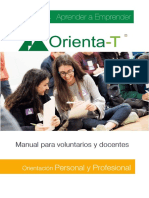 Manual Orienta-T. Fundación Junior Achievement
