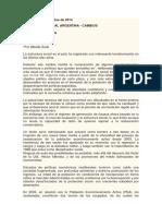 Estructura Social de La Argentina