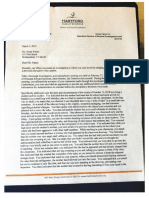 iNVESTIGATION CLEARANCE LETTERS