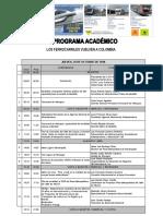 Programa Seminario de Ferrocarriles y Transporte Sostenible