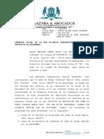 Devolución de Arma de Fuego - Solicitada al Ministerio Público