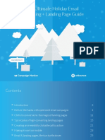Holiday Email Marketing Landing Guide