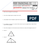 Parcial II de 3ero Sec Geometria Fila A