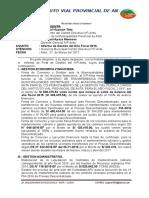 INFOR 052 Informe de Gestión Del 2016