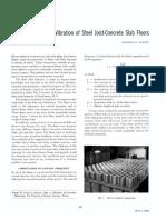 1966 Vibration of Steel Joist-Concrete Slab Floors