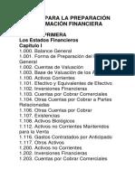 manual para estados finacieros
