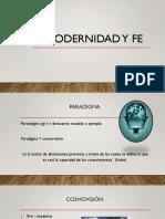 Posmodernidad y Fe 1