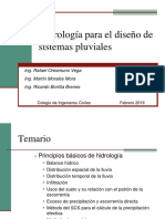 01 Curso Hidrologia Para Alcantarillados Pluviales Sesion 1