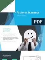 Factores Humanos Conceptos Básicos