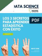 02 Los 3 Secretos Para Aprender Estadistica Con Exito