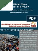 CDM and Waste Dharmesh