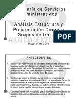 Estructura Decreto Grupos Trabajo