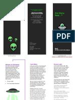 aliens brochure
