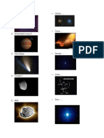 Planetas, Estrellas, Universos, Cometas