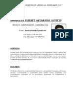 Claro Tecnico Cv Jhonatan Elieset Alvarado Alvites Claro