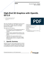 3D Graphics OpenGL