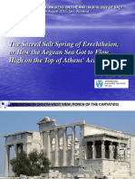 Sacred Salt Spring of Erechtheion.ppt