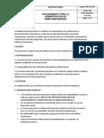 Pro-hvgc-001 Procedimiento Para La Administracion de Hemocomponentes