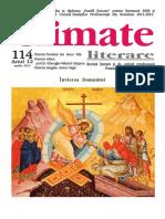 Climate Literare nr. 114, aprilie 2019