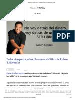 Padre Rico Padre Pobre, De Robert T. Kiyosaki. Resumen y PDF
