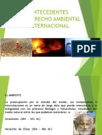 4.- Antecedentes y Desarrollo de La Normativa Ambiental Inter y Nac