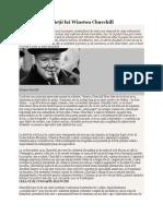 În Intimitatea Vieţii Lui Winston Churchill