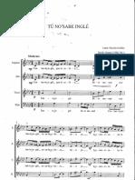 Tú No Sabe Inglé - Emilio Grenet