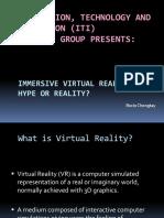 Immersive Virtual Reality PPT