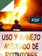 Manejo de Extintores