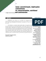 Dietas Vegetarianas Caracterização Implicações Nutricionais e Controvérsias