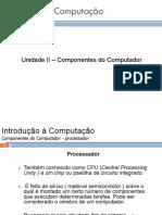 Aula2 - Componentes Do Computador2018