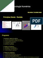 Ecologia Numérica - Aula 1- Revisão Correlação e Regressão