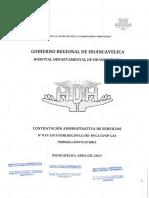 PRIMERA CONVOCATORIA CAS 019-2019 DEL HOSPITAL DEPARTAMENTAL DE HUANCAVELICA