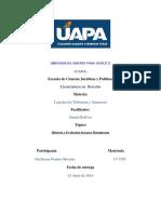 Historia y Evolución Del Peso Dominicano Dios Es Mi Guia Trabajo Final Legislacion Financiera