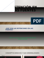 Retención en Las Fuentes