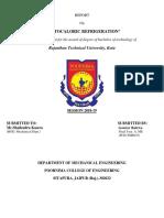 Bairwa Report