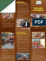 Boletin Guia de Deslizamiento VIDECI BOLIVIA