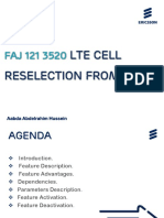 LTE Cell Reselection from FACH